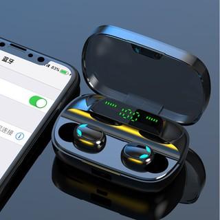Tai Nghe Bluetooth 5.0 TWS 9D pin 3500 mAh màn hình led tích hợp Micro kháng nước tặng kèm hộp sạc S11B