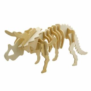 [Tặng 20k] – Bộ Ghép Xương Khủng Long Triceratops 3D#ThanhHằng