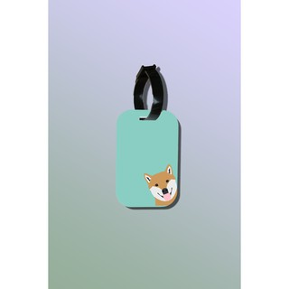 Tag hành lý du lịch in hình Pet lover - Peek a poo Shiba thumbnail