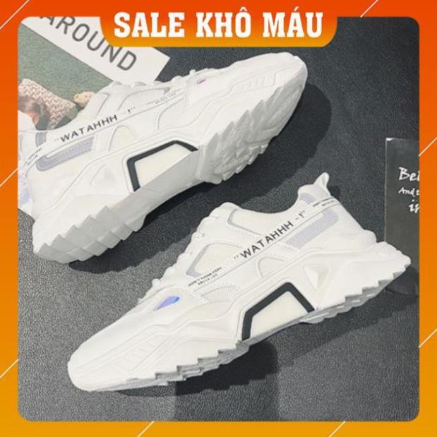 [Giá Sập Sàn] Giày thể thao nam, Giày nam tăng chiều cao 5cm Phản Quang WATAHHH cực chất CK01