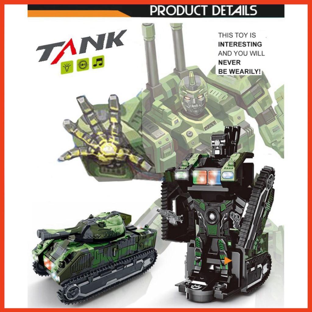 Đồ chơi bé trai xe điều khiển biến hình thành robot - JS012 do choi cao cap