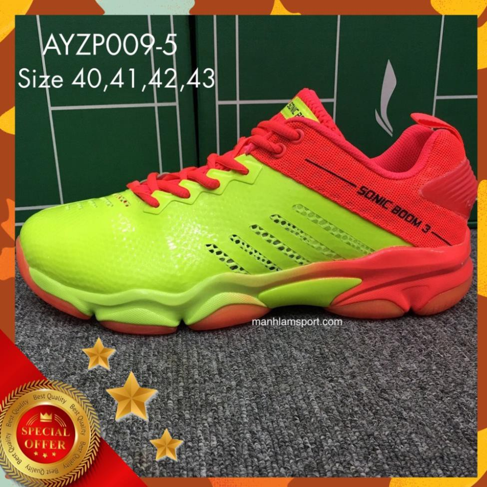 [Chính hãng]Giày cầu lông Lining AYZP009-5 chính hãng, full box, bền, bám sân, bảo hành 2 tháng, đổi mới 7 ngày bán chạy