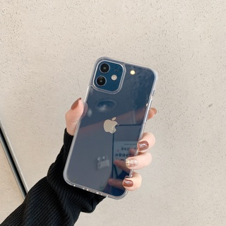 Ốp Điện Thoại Mặt Kính Trong Suốt Dành Cho Iphone 8plus Xsxr 1211promax Mini