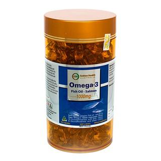 Viên uống dầu cá hồi Salmon Fish Oil Omega 3 1000mg Golden Health (365 viên)
