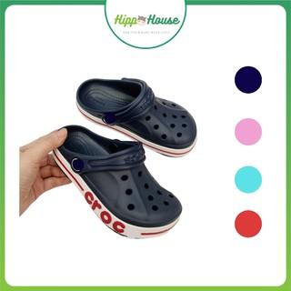 Dép Sục Crocs Cross Cho Bé Hiệu Bayaband Xuất Xịn Tặng Kèm Sticker Hippo House thumbnail