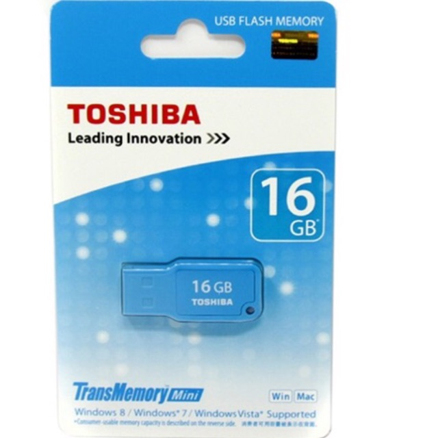 USB [2.0] 16GB Toshiba Mikawa - 2437006 , 954099889 , 322_954099889 , 95000 , USB-2.0-16GB-Toshiba-Mikawa-322_954099889 , shopee.vn , USB [2.0] 16GB Toshiba Mikawa