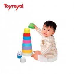 Bộ xếp tháp Thỏ con Toyroyal Hàng Nhật - 2495546 , 59211736 , 322_59211736 , 235000 , Bo-xep-thap-Tho-con-Toyroyal-Hang-Nhat-322_59211736 , shopee.vn , Bộ xếp tháp Thỏ con Toyroyal Hàng Nhật