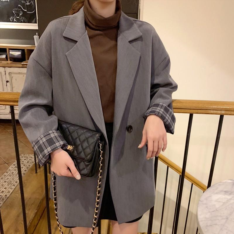 [AQ1,119] Áo blazer nữ dài tay (MY)