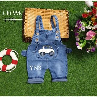 Yếm Jeans cho bé
