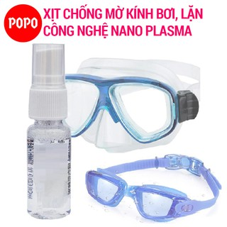 Chai xịt chống sương mờ, chống hấp hơi kính bơi, kính lặn POPO thumbnail