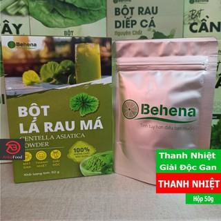 Bột Rau Má Behena - Giúp Thanh Nhiệt Giải Độc - Hỗ trợ tiêu hoá, chống viêm dạ dày (Hộp 50gr) thumbnail