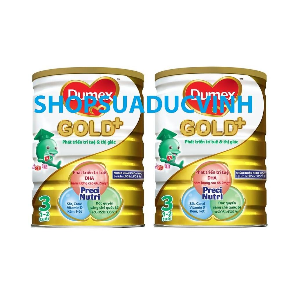 Bộ 2 hộp Sữa bột Dumex Gold 3 (1.5kg) (1-2 tuổi) - 2567084 , 40589332 , 322_40589332 , 1070000 , Bo-2-hop-Sua-bot-Dumex-Gold-3-1.5kg-1-2-tuoi-322_40589332 , shopee.vn , Bộ 2 hộp Sữa bột Dumex Gold 3 (1.5kg) (1-2 tuổi)