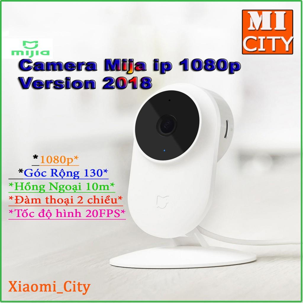 Camera giám sát IP Xiaomi Mijia độ phân giải 1080p góc nhìn 130 độ v2018