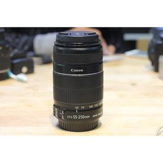 Lens canon 55-250mm f4/5.6 IS II tình trạng mới đến 98%