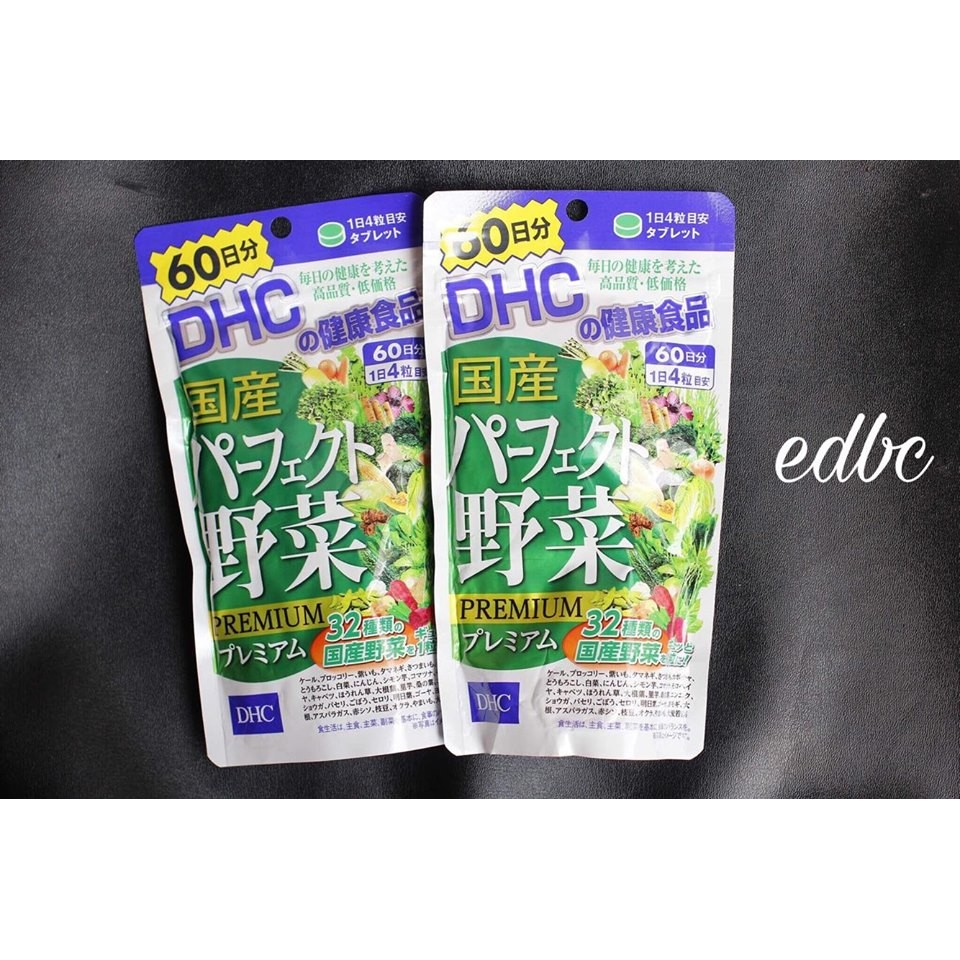 Viên uống bổ xung rau Perfect Yasai Premium