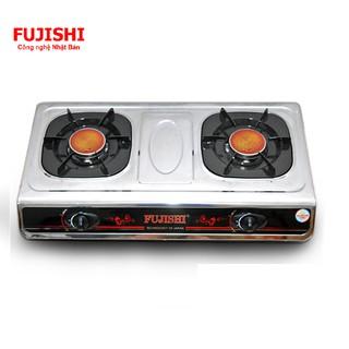 Bếp Gas đôi inox Fujishi FU-210-iN - Chén đồng
