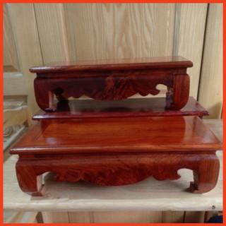 Đế khung ảnh thờ-Kỷ chữ nhật gỗ hương