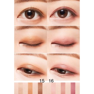 Phấn Mắt MISSHA 3 màu The Style Triple Perfection Shadow