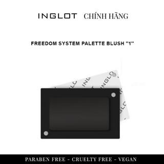 INGLOT - Hộp đựng 1 lõi phấn má hồng (không kèm cọ) Inglot Freedom System Palette Blush 1 thumbnail