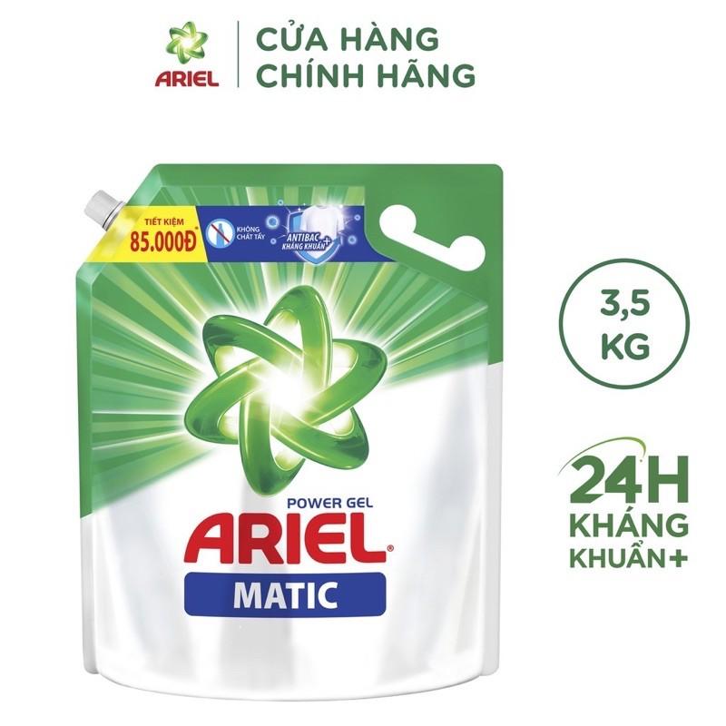 Nước Giặt Ariel Túi 3.2Kg và 3,5kg ( mẫu mới )