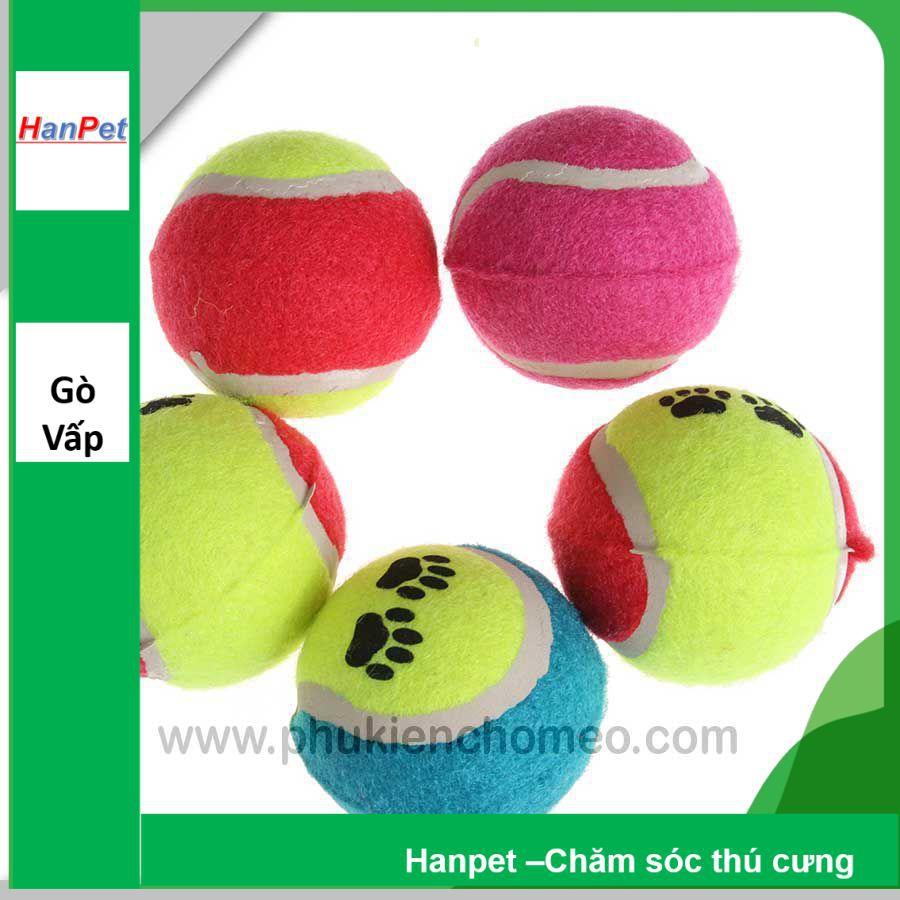 Hanpet.GV- 197- Bóng tennis (- 4711784) đồ chơi chó mèo