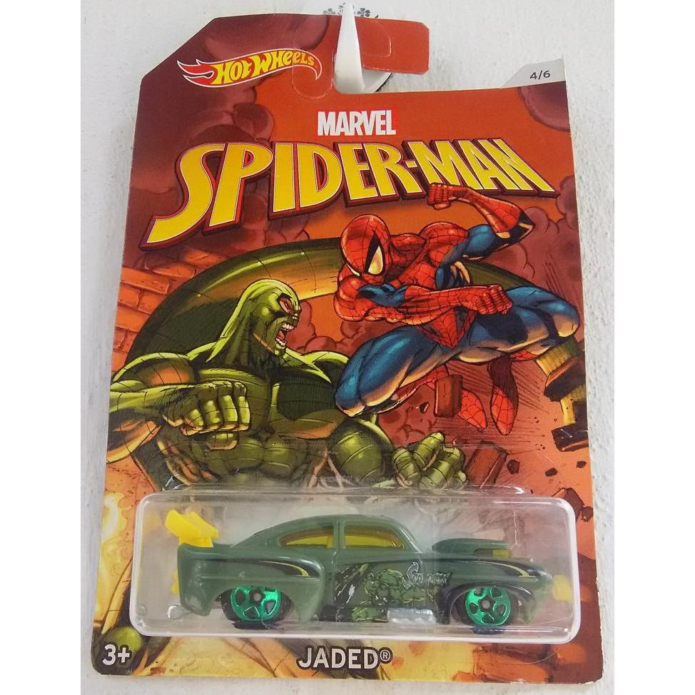 Xe mô hình Hot Wheels Spider-Man: Homecoming Jaded DWD21