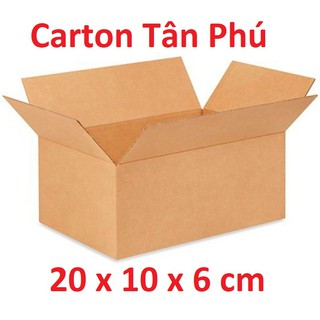 KHUYẾN MÃI 20x10x6 CM – 1 Thùng Carton đóng hàng tiện lợi