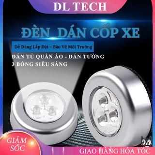 Đèn Led Dán Tường Cốp Xe Ô Tô Trần Xe Tủ quần áo mini dùng pin L646 siêu sáng DL thumbnail