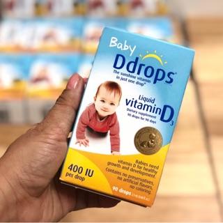 Baby Ddrops Vitamin D3 Mỹ