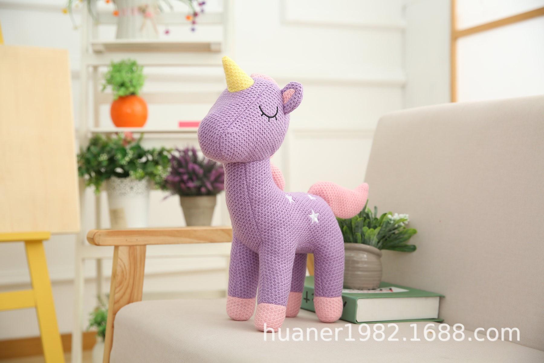 Gối Ôm Hình Ngựa Pony Dễ Thương Xinh Xắn Cao Cấp