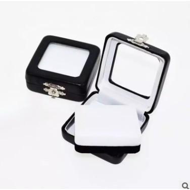 Hộp đựng đá quý hộp kim loại hộp Thiết hộp kim cương trang sức.