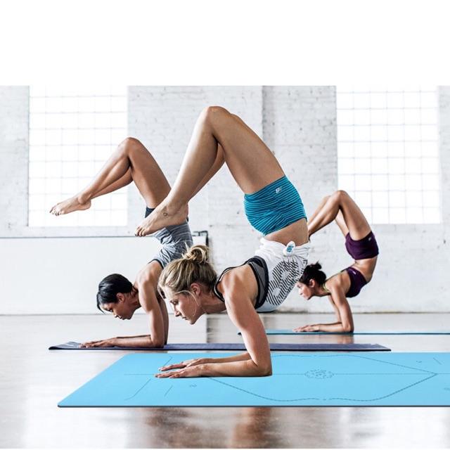 Thảm tập Yoga PU cao su thiên nhiên Cao cấp 5mm