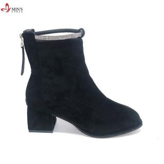 Min's Shoes - Giày Bốt 73 Da Lộn