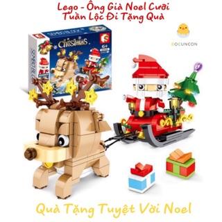 [NEW 2019] Lego Christmas Xếp Hình Thông Minh SEMBO BLOCK 601091