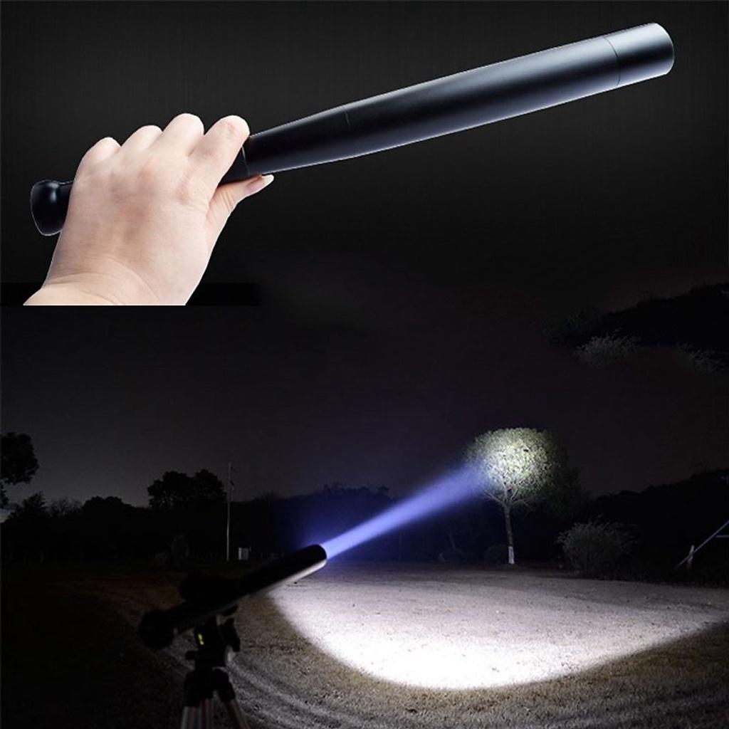 Đèn Pin Gậy Bóng Chày Siêu Sáng Dài 44Cm, Siêu Cứng, Chất Liệu Hợp Kim  Nhôm, Chịu Lực Được Khi Va Đập Mạnh