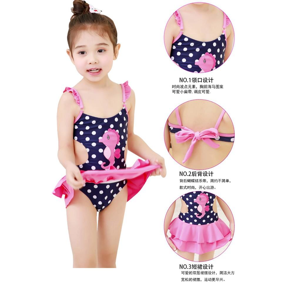 Váy bơi xinh xinh cho bé