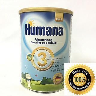 Sữa Humana Gold số 3 - 800g Nhập khẩu Đức (ĐẢM BẢO CHECK MÃ CHUẨN)
