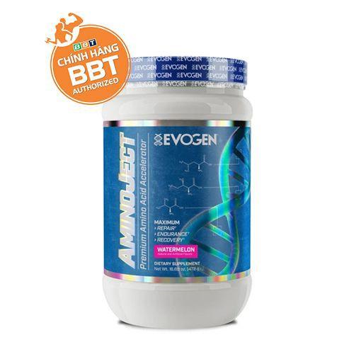 Evogen Amino Ject - Tăng lực xịn xò, phục hồi thể lực cao cấp gymer