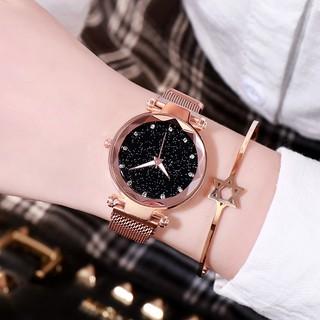 Đồng hồ thời trang nữ AKS03 dây nam châm vĩnh cửu, sang trọng lịch lãm,
