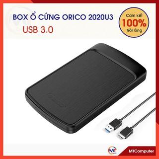 Box ổ cứng 3.0 ORICO 2020U3 SSD HDD 2.5 – SATA to USB 3.0 HDD SSD