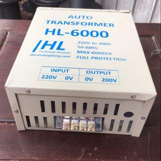 Đổi nguồn hạ điện từ 220v xuống 200v dùng cho bếp từ nội địa nhật