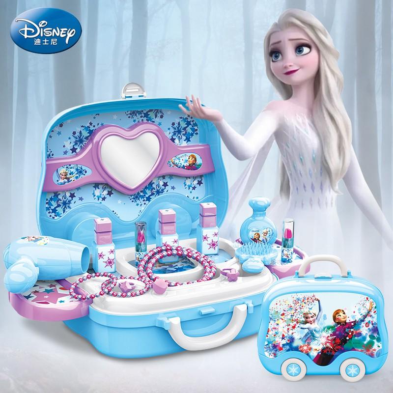 Vali Bộ Trang điểm Elsa Frozen cho bé gái Đồ chơi Disney