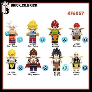 KOPF 6057 (CÓ SẴN) – Đồ chơi lắp ráp minifigure và non lego nhân vật hoạt hình Bảy viên ngọc rồng Dragon Ball.
