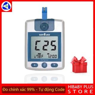 Máy đo đường huyết Hàn Quốc EasyGluco (TẶNG QUE THỬ) bảo hành vĩnh viễn máy đo tiểu đường easy gluco như Omron On Call