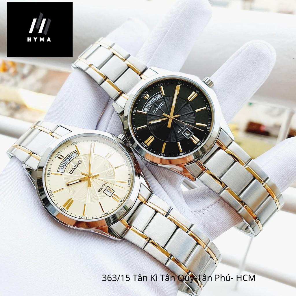 Đồng hồ Casio Nam chính hãng MTP-1381G Bảo hành 1 năm- Pin trọn đời Hyma watch