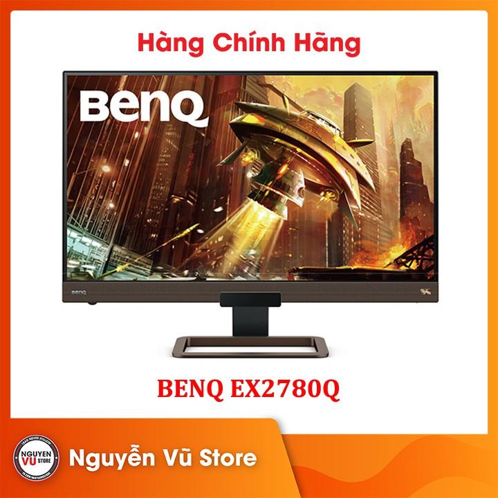 Màn hình Gaming BenQ EX2780Q 27 inch 2K 144Hz IPS với HDRi, FreeSync - Hàng Chính Hãng