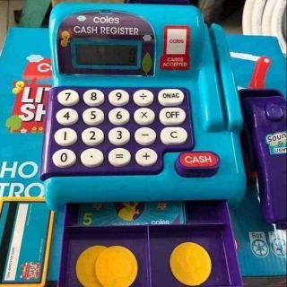 Máy tính tiền siêu thị Cash Register Little Shop COLES