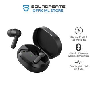 [Mã ELMS5 giảm 7% đơn 300k] Tai Nghe True Wireless In-ear Soundpeats Q Bluetooth V5.0 Dual Míc