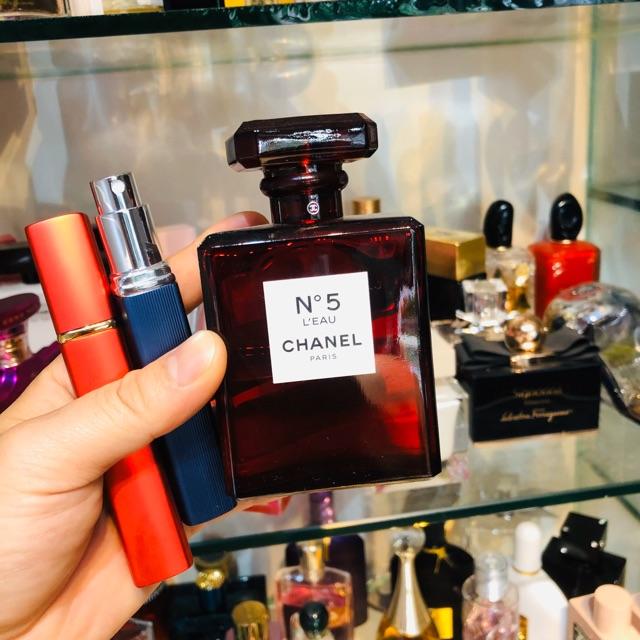 Nước Hoa chiết 10ml Chanel N°5 L'eau Red