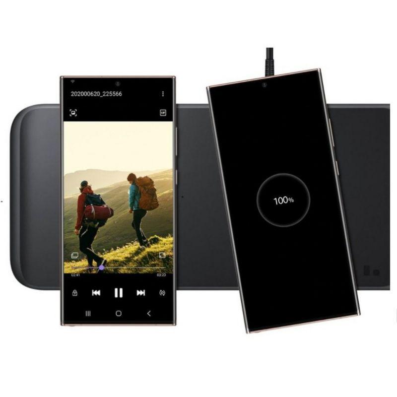 [Mã SKAMPUSHA7 giảm 8% đơn 250k]Đế sạc nhanh không dây 3 trong 1 Samsung Wireless Charger Trio EP-P6300 chính hãng